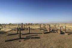 Nagrobki seljuks w Ahlat indyku Zdjęcie Stock
