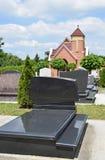 Nagrobki w cmentarzu Zdjęcia Royalty Free