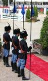 Nagroda daje ceremonii przy piazza di Siena 2010 Zdjęcie Royalty Free