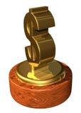 nagroda za osiągnięcia finansowej Zdjęcie Stock