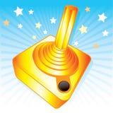 nagrody gamers złoty ilustracyjny joysticka wektor ilustracja wektor