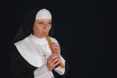 nagrywanie zakonnica grać Zdjęcie Royalty Free