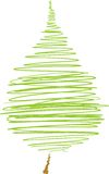 Nagryzmolony liść od drzewa Zdjęcia Royalty Free