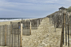 Nags Head beach on the Outerbanks, NC Stock Photos