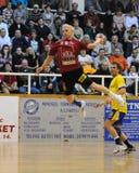 Nagyatad gegen veszprem Handballspiel stockfotografie
