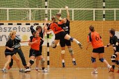 Nagyatad-Szombathely handball game Royalty Free Stock Photography