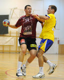 Nagyatad vs veszprem handball game Royalty Free Stock Photos