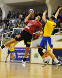 Nagyatad vs veszprem handball game Stock Photography