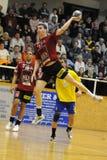 Nagyatad vs veszprem handball game Royalty Free Stock Images