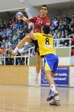 Nagyatad vs veszprem handball game Stock Image