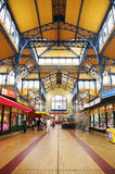 Nagycsarnok the greatest market hall in Budapest Royalty Free Stock Photography