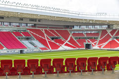 Nagyerdei Stadion in Debrecen city, Hungary Stock Photography