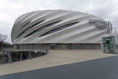 Nagyerdei Stadion w Debrecen obrazy stock