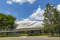 Nagyerdei Stadium in Debrecen city, Hungary Royalty Free Stock Photos