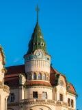 Nagyvarad (Oradea) iconic building in the city center main squar Stock Image
