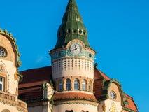 Nagyvarad (Oradea) iconic building in the city center main squar Stock Photo