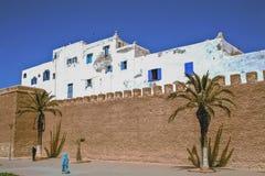 Nahöstliche Festung, Essaouira, Marokko Lizenzfreie Stockfotos