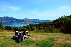Nah an Christchurch Neuseeland lizenzfreies stockfoto