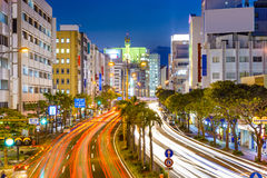 Naha, Japan Downtown Cityscape Royalty Free Stock Photos