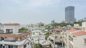 Naha miasta widok w Okinawa, Japonia Fotografia Royalty Free