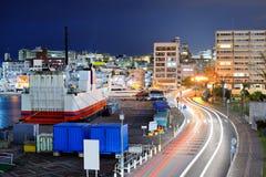 Naha, Okinawa Cityscape Images libres de droits