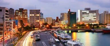 Naha, Okinawa Cityscape imagenes de archivo