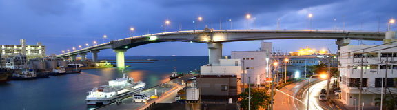 Naha, Okinawa Cityscape Royalty Free Stock Image