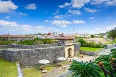 Naha slott i Okinawa arkivbilder