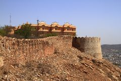 Nahagarh Fort Royalty Free Stock Image