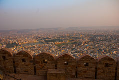 Nahagarh Fort. Jaipur. India. Royalty Free Stock Photo