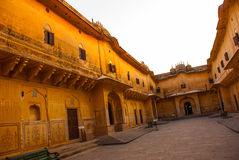 Nahagarh Fort. Jaipur. India. Royalty Free Stock Images