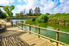 Nahal Alexander Nature Reserve Royalty Free Stock Photos
