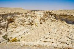 The Nahal Zin in Negev Desert, Israel Royalty Free Stock Image