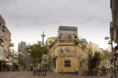Nahalat Binyamin street Israel Royalty Free Stock Photography