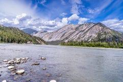 Nahanni River sul Imagens de Stock