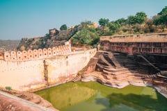 Nahargarhfort in Jaipur, India stock foto