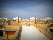 Nahargarhfort Jaipur, Rajasthan stock fotografie