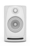 Nahaufnahme-Audio-Sprecher Wiedergabe 3d Lizenzfreie Abbildung