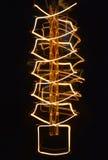 Nahaufnahme auf der Glühlampe Stockbilder