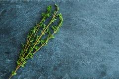 Nahaufnahme auf Thymusdrüse auf Steinsubstrat Stockfoto