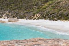 Nahaufnahme auf wenigem Strand Albanien West-Australien Lizenzfreies Stockbild