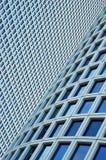 Nahaufnahme auf zwei Wolkenkratzern Stockfotos