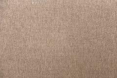 Nahaufnahme-Brown-Stoff-Gewebe-Beschaffenheits-Hintergrund lizenzfreie stockfotos