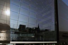Nahaufnahme-dänische königliche Bibliothek Lizenzfreie Stockfotografie