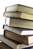 Nahaufnahme der alten Bücher Stockfoto