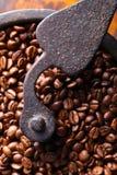 Nahaufnahme der alten Kaffeemühle Lizenzfreie Stockfotografie