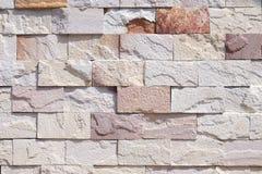 Nahaufnahme der antiken Steinwand Lizenzfreie Stockfotos