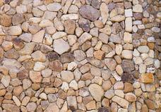 Nahaufnahme der antiken Steinwand Stockfoto