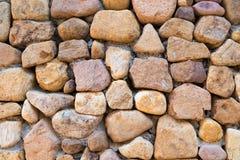 Nahaufnahme der antiken Steinwand Lizenzfreie Stockfotografie