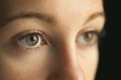 Nahaufnahme der Augen Lizenzfreie Stockbilder